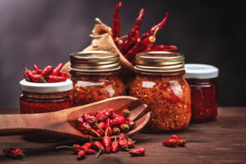 chile peppers & hot sauce