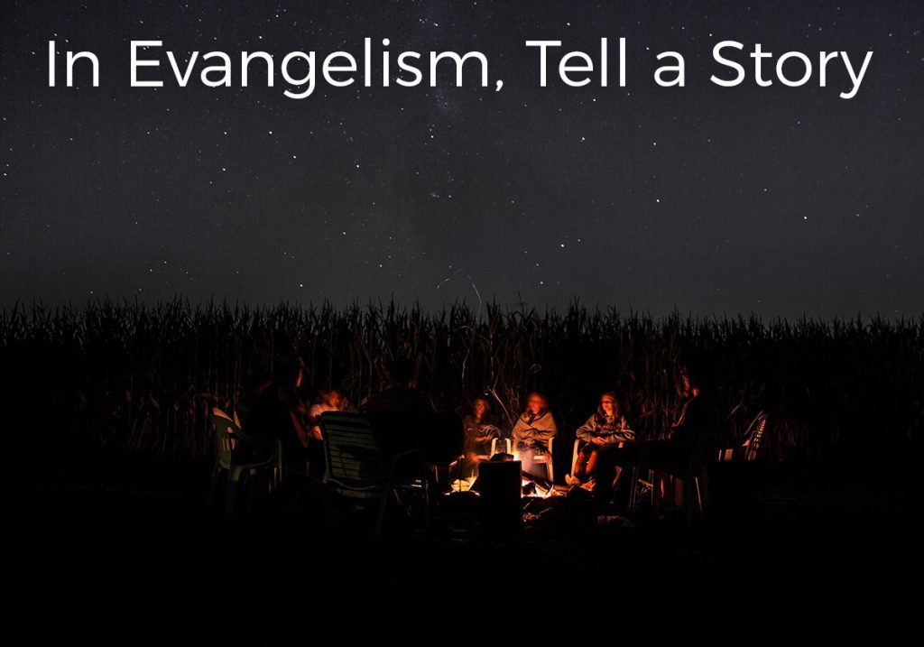 in-evangelism-tell-a-story-campfire