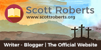 The Official Scott Roberts Website - Christian Writer, Blogger and Author, Men's Ministry, Toronto, Ontario